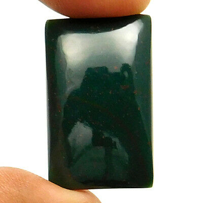 29.60 cts Natural Beautiful Designer Bloodstone Gemstone Octagon Loose Cabochon