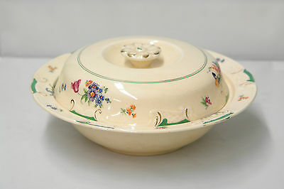 Vintage Booths Ltd Casserole Covered Vegetable Dish Pattern 4532