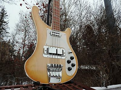 Rickenbacker;Chris Squire;Paul Karslake Painted! VERY RARE BASS! Only 2 exist!!!