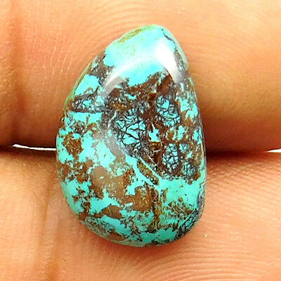 6.70 cts Natural Beautiful Designer Azurite Cabochon Fancy Shape Loose Gemstone