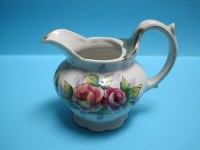 OCCUPIED JAPAN, LOVELY FLORAL PITCHER SO NICE* No Chip *