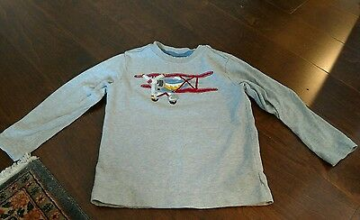 hanna andersson airplane t shirt size 100