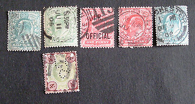 G.B.E.VII fine  used stamps..