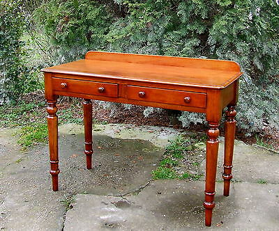 Regency, William IV Mahogany Writing Desk, Side Table. Circa 1820 1830.