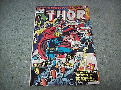 Thor # 228 -  Marvel Comics  1974 - Ego The Living Planet