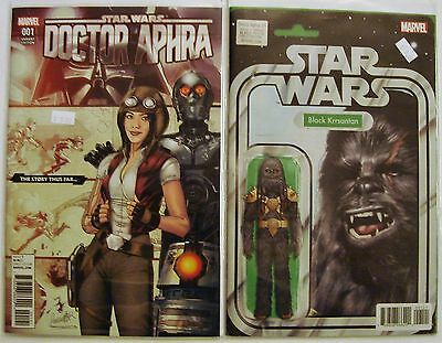 Marvel Comics - 2x Star Wars: Doctor Aphra #1 w/ Variant Covers