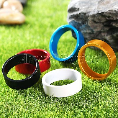 Color Aluminum Alloy Mountain Bicycle Head Tube Washer Bike Headset Stem Spacer