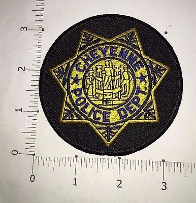 Cheyenne Police Dept Patch  -   Wyoming
