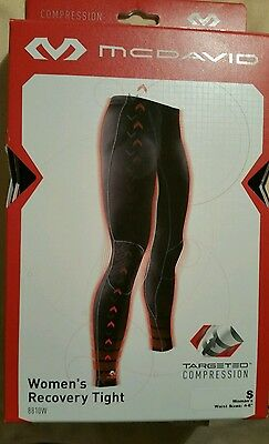 McDAVID WOMEN'S TARGETED COMPRESSION RECOVERY TIGHT PANT (SMALL/4-6) -- NEW