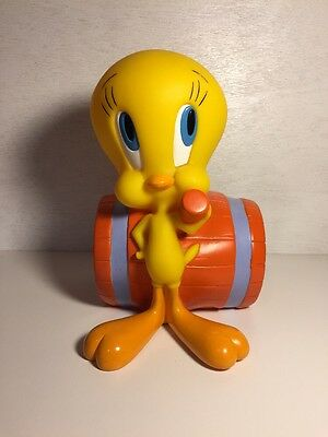 Vintage 1997 Tweety Bird With  Mallet Hammer  Looney Tunes Warner Bros Bank