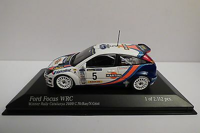 Ford Focus RS WRC #5 Mc Rae/Grist Rally Catalunya 2000 - Minichamps 1/43