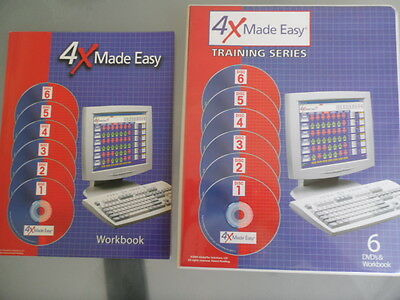 Forex Training Course 6 DVD's & Workbook 4X Made Easy