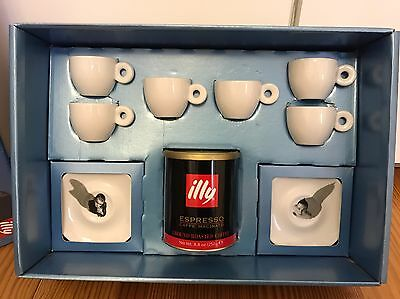 """illy collection """"Central Saint Martins"""" by Neil Aitken & Ross Cooper, NEU/OVP!"""