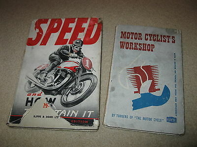 Motorcycle Manual Book - Speed and How to Obtain It - Racing Workshop lot