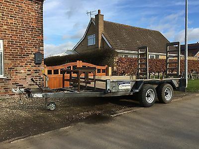Indespension (not Ifor Williams) Twin Axle Low Loader Plant Trailer 10' x 6'