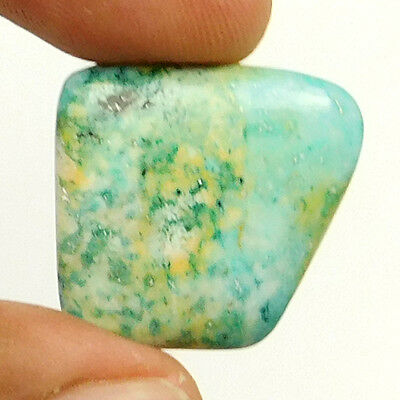 24.50 cts Natural Quality Turquoise Fancy Loose Cabochon Gemstone For Jewelry