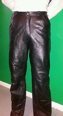 Vintage Men's Real  Leather Trousers Bought In California