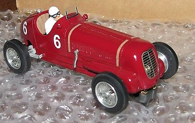 TRRC,Tertre Rouge Racing Cars, Maserati 6CM 1938, factory built RTR,ultra RARE!