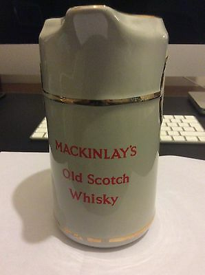 Mackinlays Old Scotch Whisky Water Jug