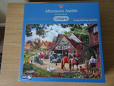 GIBSONS 1000 piece Jigsaw Puzzle - 'Afternoon Amble' by Steve Crisp