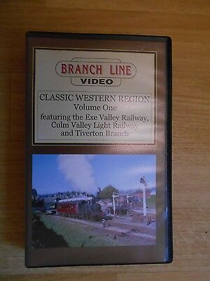 Branch Line Video Classic Western Region-The Exe Valley Railway-Culm Valley-Tive