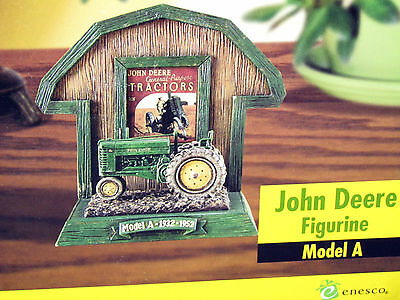 John Deere Model A Tractor Display Piece 1932-1952 By Enesco Ex Cond New In Box