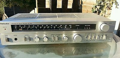 TECHNICS AMPLIFIER RECEIVER SA-104L +Manual ( phono stage )nice condition G/W/O