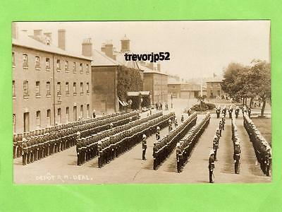 Depot  Royal Marines Deal  Walmer Road unused RP pc Ref A854