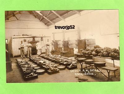 Depot  Royal Marines Deal Cook House unused RP pc Ref A853