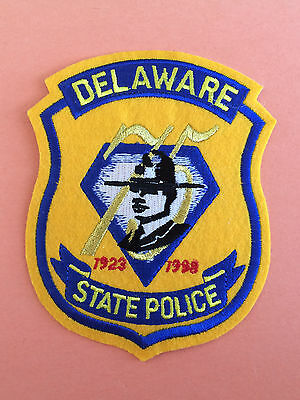 Delaware State Police 75th Anniversary Patch.