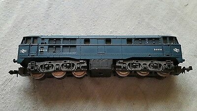 A model railway diesel locomotive in N gauge by Lima unboxed working