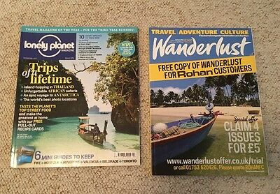 Lonely Planet Traveller Magazine March 2012 #39 + Free Feb 2012 Wanderlust Mag