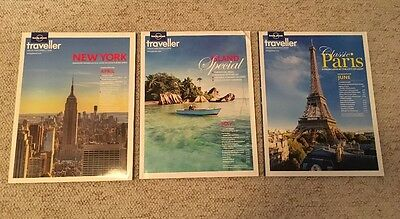 3 x Lonely Planet Traveller Magazines April May June 2013 52 53 54