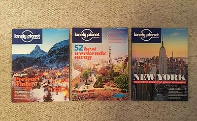 3 x Lonely Planet Traveller Magazines January February March 2015 73 74 75