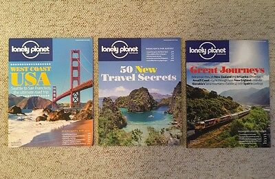 3 x Lonely Planet Traveller Magazines July August September 2015 79 80 81