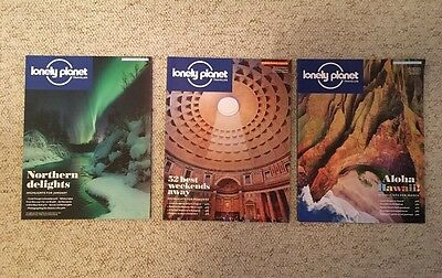 3 x Lonely Planet Traveller Magazines January February March 2016 85 86 87