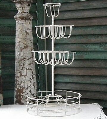 ~K.D. VINTAGE~ 16-Inch ~FRENCH WIRE-WARE EGG TREE~ New & Unused!