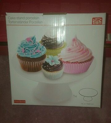 Porcelain Cupcake Stand, Brand New