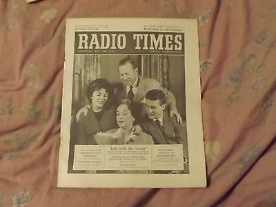 Radio Times - Oct 30 - Nov 5, 1955 Life With The Lyons Cover