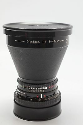 Hasselblad Carl Zeiss Disatagon 40mm F4 lens. Hasselblad V fit - READ