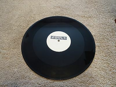 "The Cult Extremely Rare Fire Woman White Label Test Pressing/promo 12"" Vinyl"