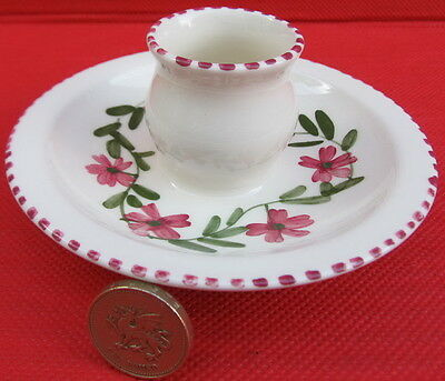 Vintage Cinque Ports Pottery Rye, Candle Holder