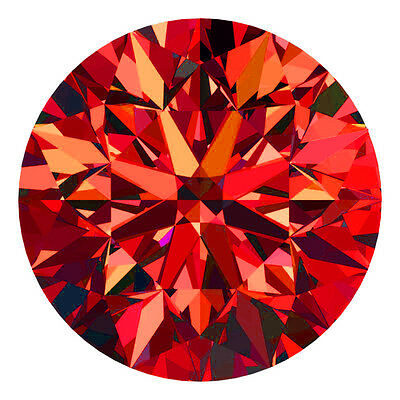 1.3 MM BUY CERTIFIED Round Fancy Red Color VS 100% Real Loose Natural Diamond #B