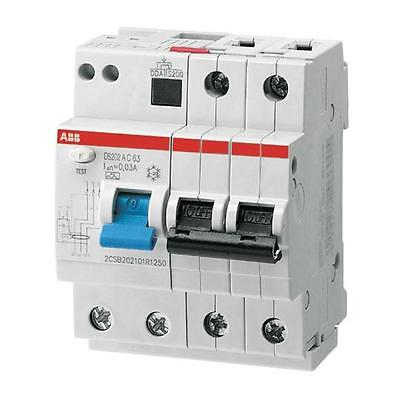 ABB DS202 C16 RCBO (MCB with earth fault protection)