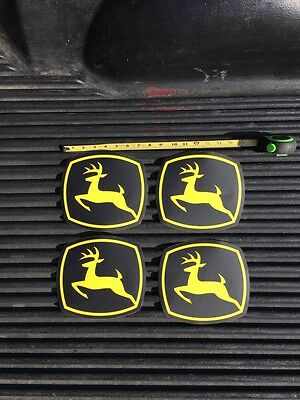 Original John Deere Decals Q'ty 4