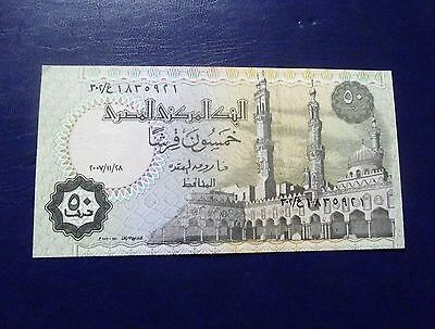 Banknote Egypt 50 Piastres Nr/ Uncirculated