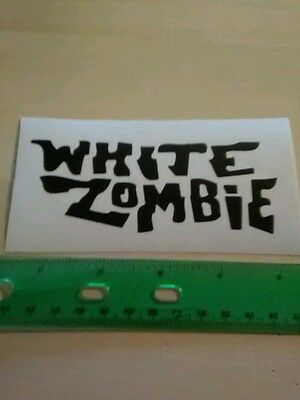 White zombie decal.    #135