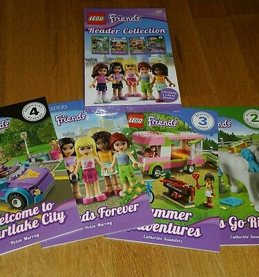 lego friends reader collection
