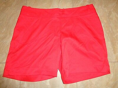 Tail White Label Golf Shorts Size 14 Red ~ NWOT