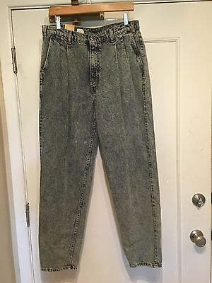 Men's Vintage Levi Silver Tab Pleated Front Acid Wash Jeans NWT Sz 36x32 Taper